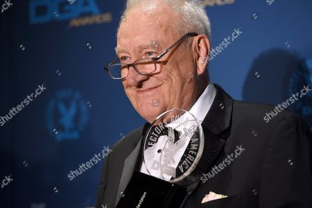 Don Mischer poses in the press room with the Lifetime Achievement award at the 71st annual DGA Awards at the Ray Dolby Ballroom, in Los Angeles