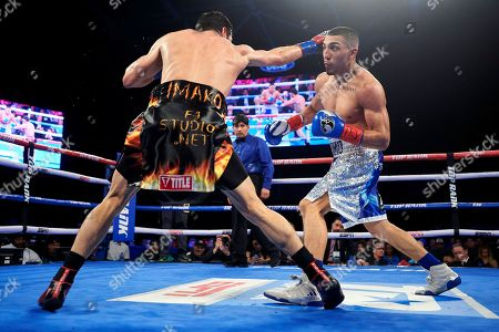 Editorial picture of Lopez Magdaleno Boxing, Frisco, USA - 02 Feb 2019