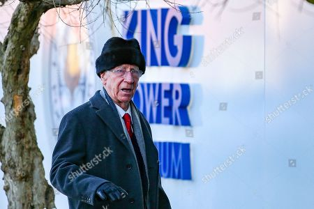 Sir Bobby Charlton arrives ahead of the Premier League match between Leicester City and Manchester United at the King Power Stadium, Leicester