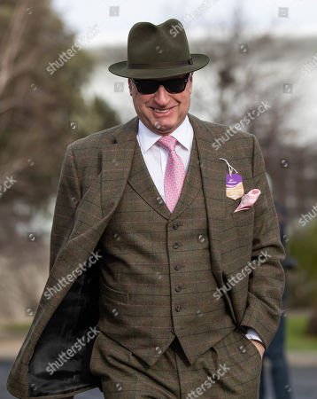 Stock Photo of Owner Rich Ricci arrives at Leopardstown