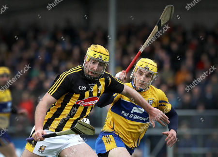 Clare vs Kilkenny. Clare's Rory Hayes and Billy Ryan of Kilkenny