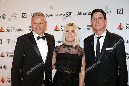 02.02.2018, RMCC, Wiesbaden, 49. Ball des Sports 2019 Stiftung German Sporthilfe RMCC ,  Stefan Bloecher and wife, Marcus Hoefl (Ehemann of  Maria Hoefl-Riesch)
