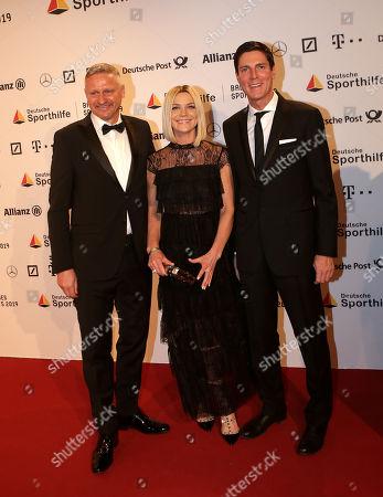 02.02.2018, RMCC, Wiesbaden, 49. Ball des Sports 2019 Stiftung German Sporthilfe RMCC ,  Stefan Bloecher and wife, Marcus Hoefl (husband of  Maria Hoefl-Riesch)