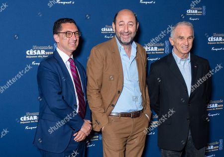 Maxime Saada, Kad Merad, Alain Terzian