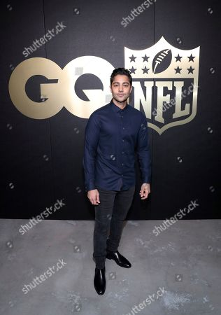 Manish Dayal seen at the GQ x NFL After Party, in Atlanta