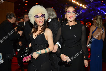 Ornella Muti and daughter Naike Rivelli