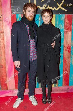 Sara Giraudeau and husband