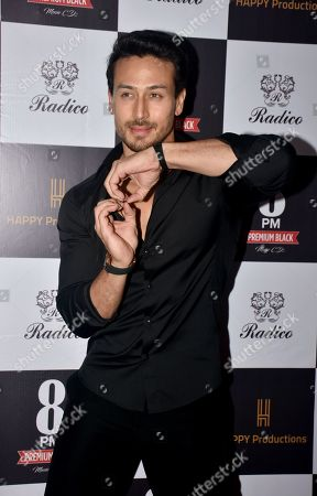 Actor Tiger Shroff seen during his new music video launch, Areyoucoming, at hotel Taj Lands End in Mumbai.