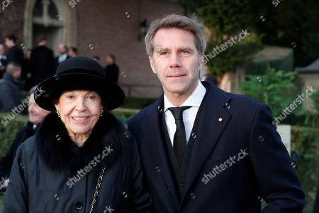 Stock Photo of Prince Emanuele Filiberto of Savoy at the ceremony