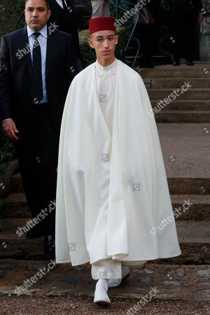 Crown Prince Moulay Hassan of Morocco at the ceremony