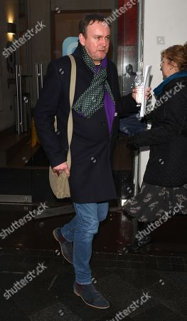 Editorial image of Phillip Glenister out and about, London, UK - 04 Feb 2019