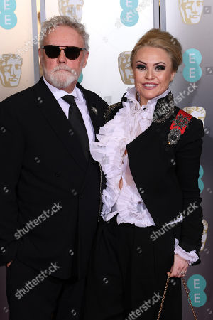 Roger Taylor and Sarina Potgieter