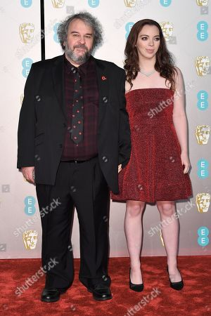 Stock Picture of Peter Jackson and Katie Jackson