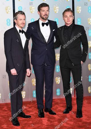 Joseph Mazzello, Gwilym Lee and Ben Hardy