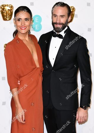 Maria Dolores Dieguez and Joseph Fiennes
