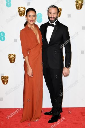 Stock Photo of Maria Dolores Dieguez and Joseph Fiennes