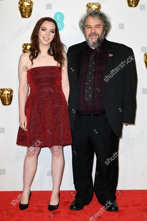 Stock Photo of Katie Jackson and Peter Jackson