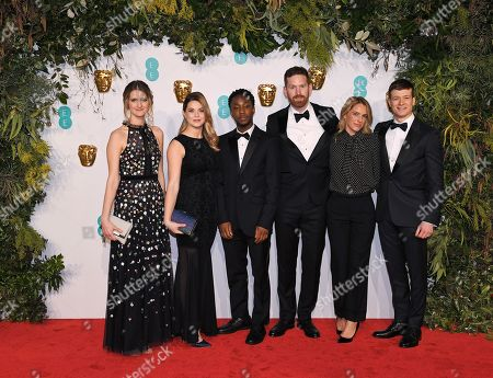 Asia Macey, Ed Speleers and guests