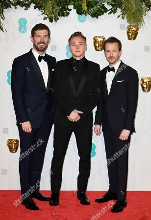 Gwilyn Lee, Joseph Mazzello and Ben Hardy