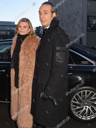 Dominique Lemonnier and Alexandre Desplat