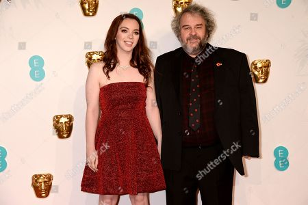 Stock Photo of Katie and Peter Jackson