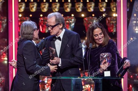 Exclusive - Elizabeth Karlsen and Stephen Wooley - Outstanding Contribution to British Cinema' and Bill Nighy