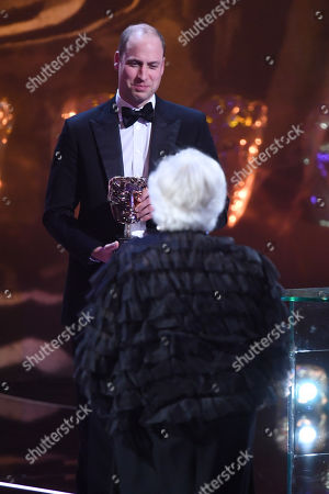 Exclusive - Prince William and Thelma Schoonmaker - Fellowship