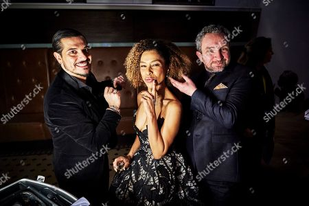 Exclusive - Sophie Okonedo and Eddie Marsan