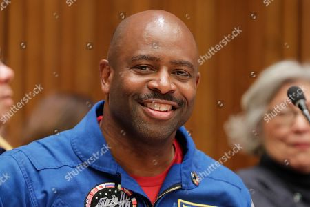 Leland Melvin, During the Library Study Hall Sustainable Fashion Summit today at the UN Headquarters