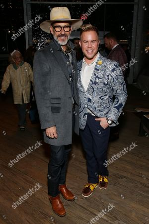 Editorial picture of Joseph Abboud show, Front Row, Fall Winter 2019, New York Fashion Week Men's, USA - 04 Feb 2019