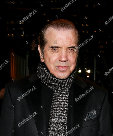 Chazz Palminteri in the front row
