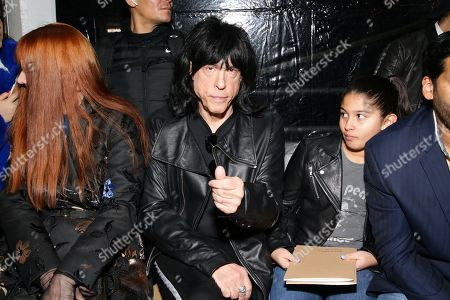 Marky Ramone in the front row
