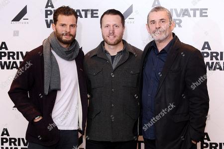 Jamie Dornan, Paul Conroy and Matthew Heineman