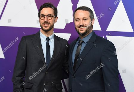 Raymond Mansfield, Sean McKittrick. Raymond Mansfield, left, and Sean McKittrick arrive at the 91st Academy Awards Nominees Luncheon, at The Beverly Hilton Hotel in Beverly Hills, Calif