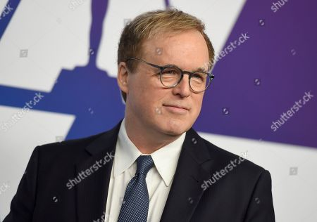 Brad Bird arrives at the 91st Academy Awards Nominees Luncheon, at The Beverly Hilton Hotel in Beverly Hills, Calif