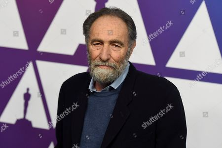 Eric Roth arrives at the 91st Academy Awards Nominees Luncheon, at The Beverly Hilton Hotel in Beverly Hills, Calif