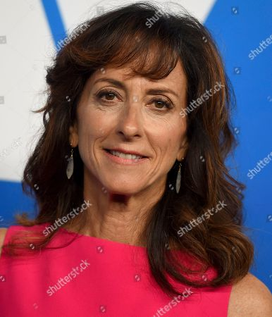 Mary Zophres arrives at the 91st Academy Awards Nominees Luncheon, at The Beverly Hilton Hotel in Beverly Hills, Calif