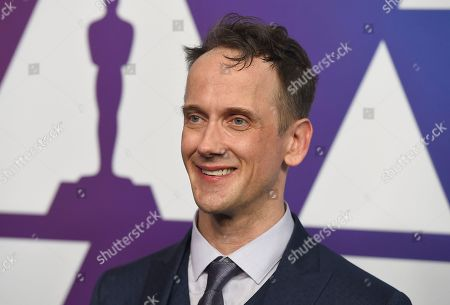 Jeff Whitty arrives at the 91st Academy Awards Nominees Luncheon, at The Beverly Hilton Hotel in Beverly Hills, Calif