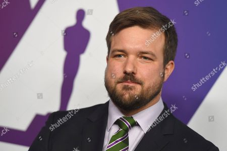 Will Fetters arrives at the 91st Academy Awards Nominees Luncheon, at The Beverly Hilton Hotel in Beverly Hills, Calif