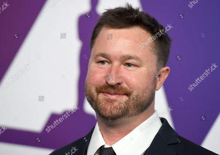 Erik Aadahl arrives at the 91st Academy Awards Nominees Luncheon, at The Beverly Hilton Hotel in Beverly Hills, Calif