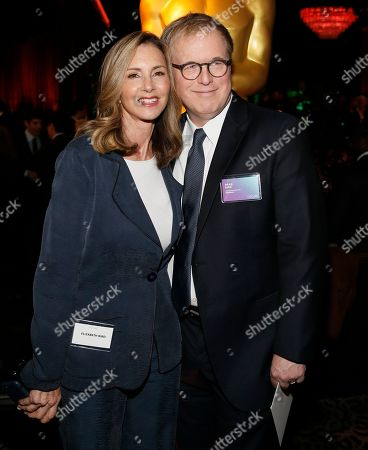 Brad Bird, Elizabeth Canney. Brad Bird, right, and Elizabeth Canney attend the 91st Academy Awards Nominees Luncheon at The Beverly Hilton Hotel, in Beverly Hills, Calif