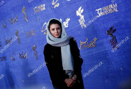 Stock Picture of Leila Hatami, cast member of Iranian movie 'The man without shadow (Sayeh)' arrives for the 37th Fajr Film festival at the Pardis Complex in Tehran, Iran, 04 February 2019. The festival runs to 11 February.