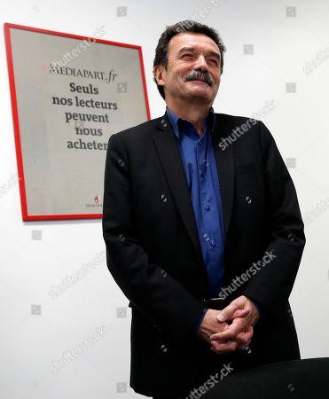 Editorial photo of Mediapart, Paris, France - 04 Feb 2019