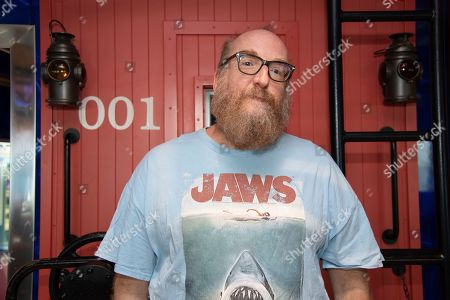 Stock Image of Brian Posehn poses on board the Carnival Valor during day 5 of the ShipRocked cruise on