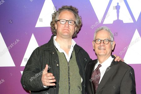 Florian Henckel von Donnersmarck (L) and US cinematographer Caleb Deschanel (R) arrive for the 91st Oscars Nominees Luncheon at The Beverly Hilton Hotel in Beverly Hills, California, USA, 04 February 2019. The 91st Academy Awards telecast is scheduled to air on 24 February 2019.