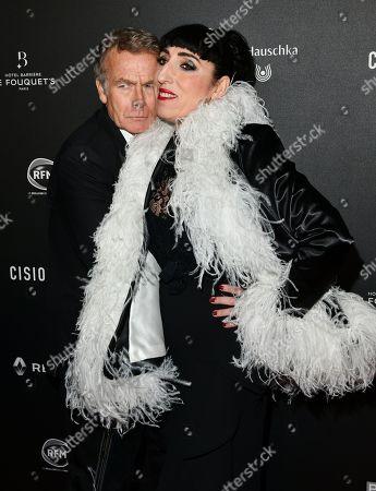Franck Dubosc and Rossy De Palma