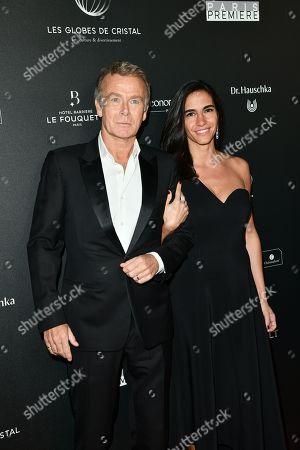 Franck Dubosc and sa femme Daniele