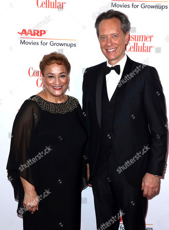 Jo Ann Jenkins, Richard E. Grant. AARP CEO Jo Ann Jenkins, left, and Richard E. Grant attend AARP The Magazine's 18th Annual Movies For Grownups Awards at Beverly Wilshire Hotel, in Beverly Hills, Calif
