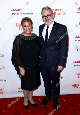 Jo Ann Jenkins, Morgan Neville. AARP CEO Jo Ann Jenkins, left, and Morgan Neville attend AARP The Magazine's 18th Annual Movies For Grownups Awards at Beverly Wilshire Hotel, in Beverly Hills, Calif