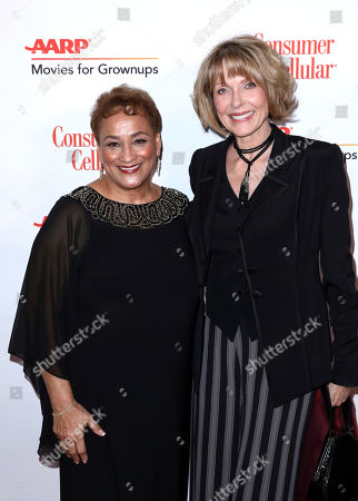 Jo Ann Jenkins, Susan Blakely. AARP CEO Jo Ann Jenkins and Susan Blakely attend AARP The Magazine's 18th Annual Movies For Grownups Awards at Beverly Wilshire Hotel, in Beverly Hills, Calif